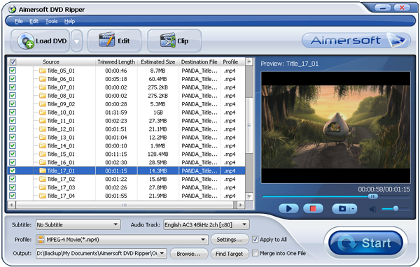 Aimersoft DVD Ripper