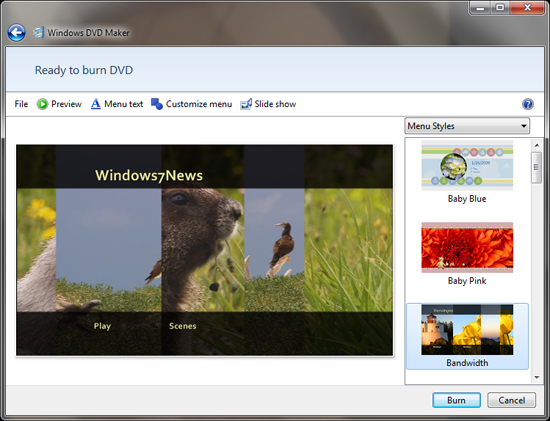 CreateSpace Community: DVD Tips: Make DVDs with FREE Windows DVD Maker