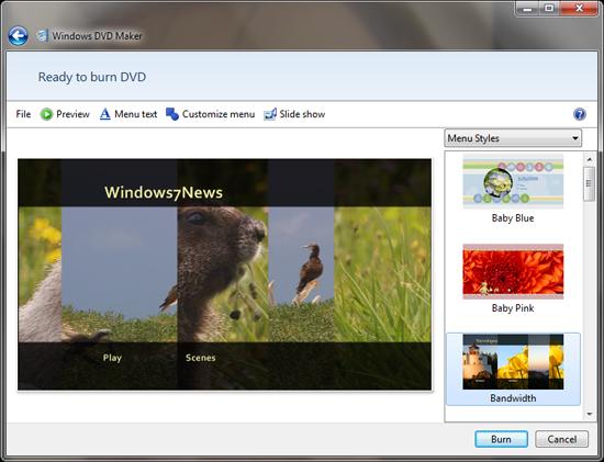 Windows DVD Maker Free Download - Convert & Burn Your Videos to DVD