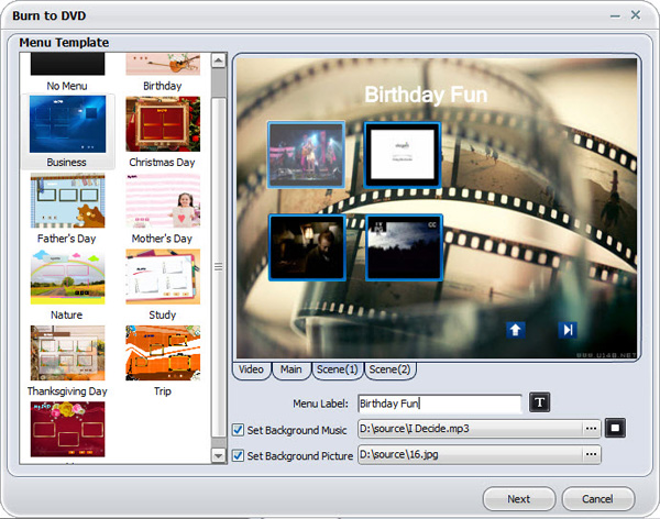 aimersoft video converter ultimate burn