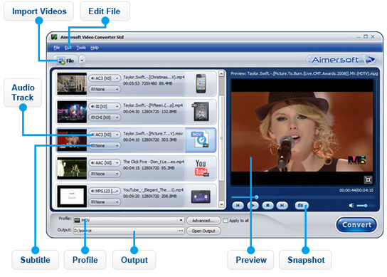 Video Converter overview
